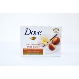Dove Purely Pampering Shea Butter toaletní mýdlo 100 g