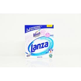 Lanza Vanish Ultra White 2v1 White prášek na praní 4 praní 300g