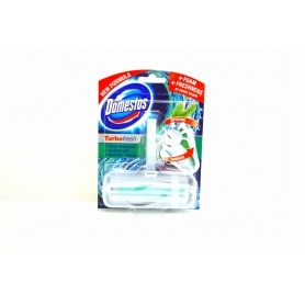 Domestos Turbo Fresh Pine rotační tuhý WC blok 32 g