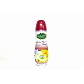 EMBFRESH Suchý sprej - bílé květy - meloun - vanilka 300 ml