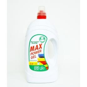 Max Power gel tekutý prací prostředek univerzal 5,6 l